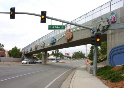 Foothill Boulevard Pedestrian and Cycling Bridge